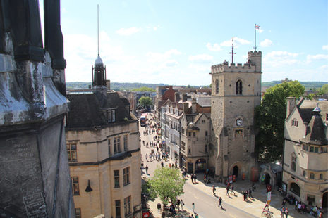City von Oxford
