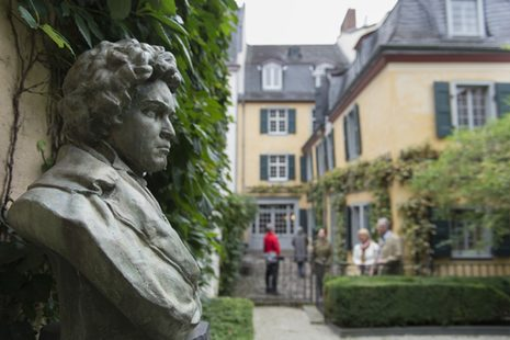 The garden of the Beethoven House