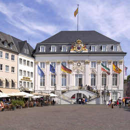 The old town hall of Bonn