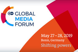 Key Visual des Global Media Forum 2019