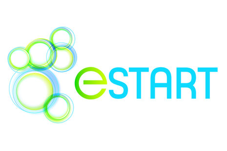 Logo der eStart-Initiative