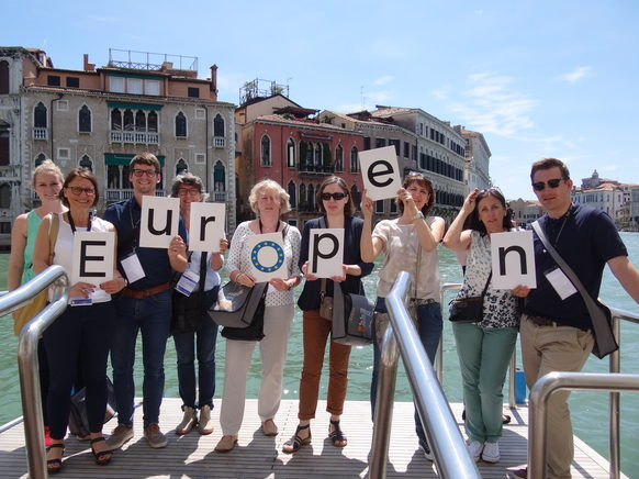 Bonner Europen-Gruppe in Venedig